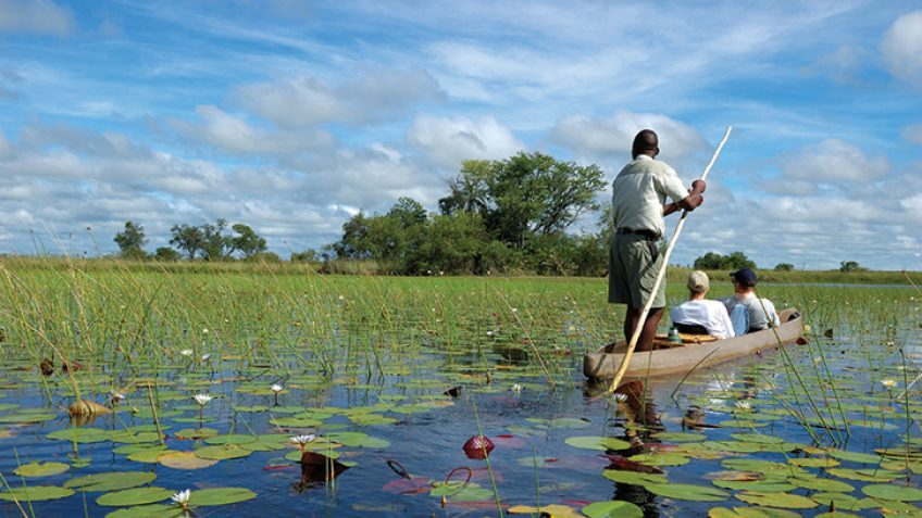 Victoria Falls and Botswana 8 day tour
